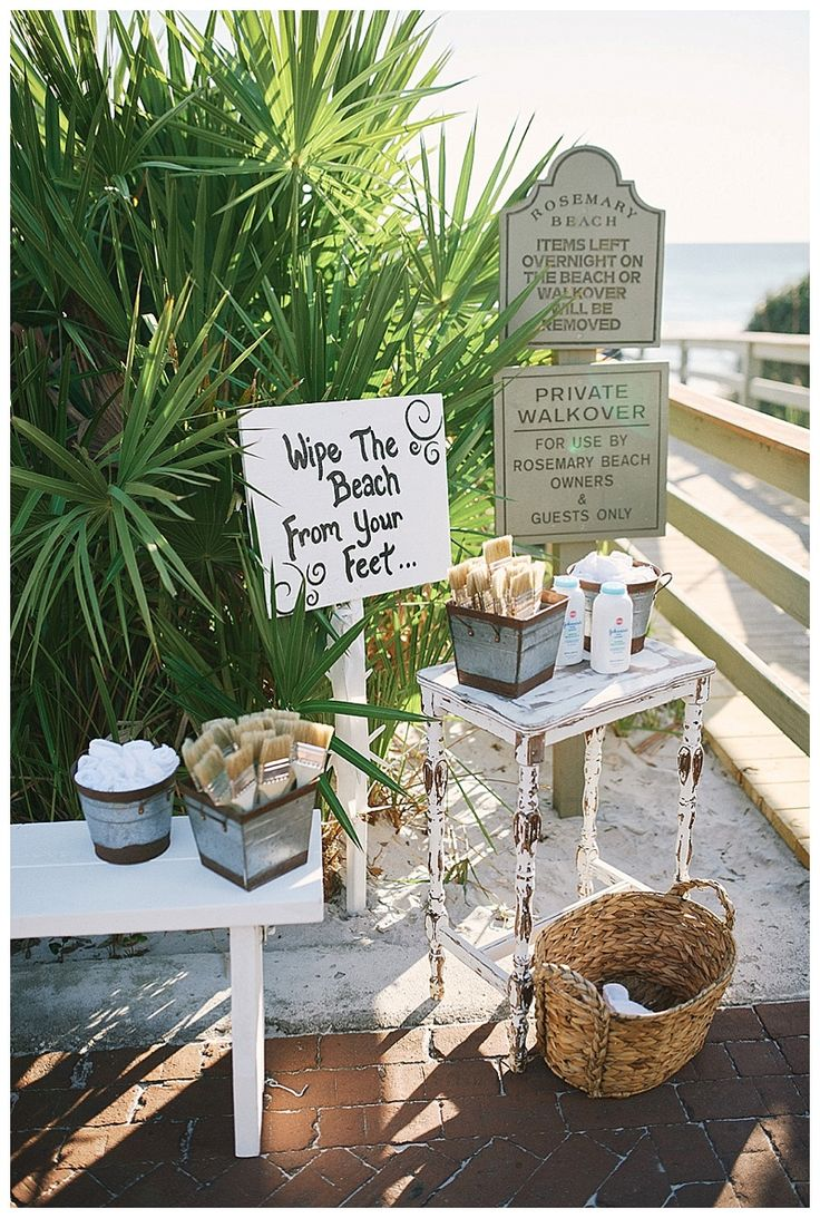 Ashley + James: Rosemary Beach Wedding