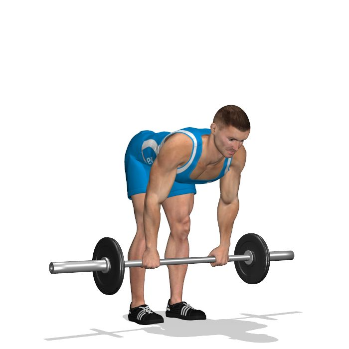 Involves the glutes and hamstrings, to be exact it works on the upper area where the glut ends and the hamstring starts.