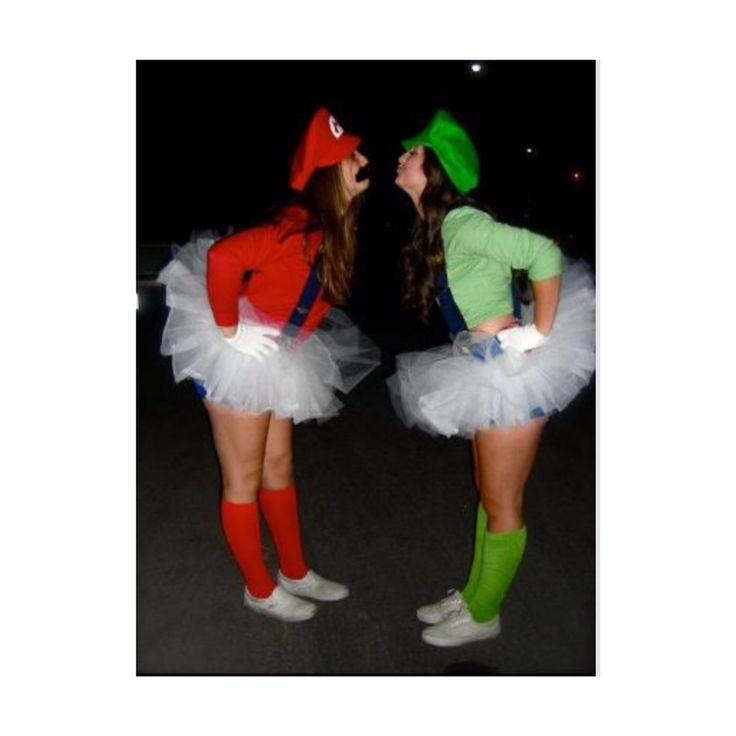 luigi halloween costume diy