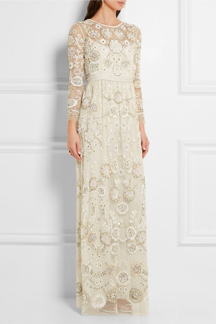 Needle & Thread | Embellished embroidered tulle gown | NET-A-PORTER.COM