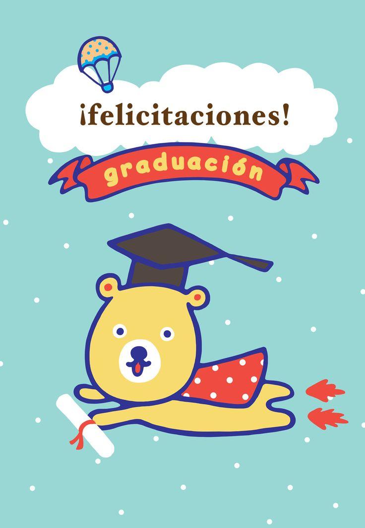 Tarjeta gratis de felicitaciones para imprimir - Felicitaciones Graduación   Greetings Island