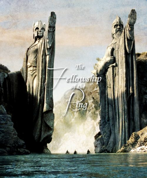 The Argonath. Beautiful, regal--awe-inspiring. So much to love about these films.