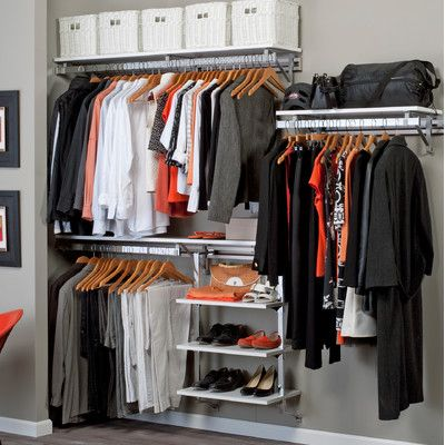 Orginnovations Inc Arrange-A-Space Best Closet Shelving System