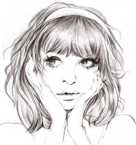 desenho de meninas fofas tumblr - Pesquisa Google                                                                                                                                                                                 Mais