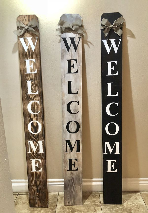This beautiful Welcome Sign makes the perfect addition to ...