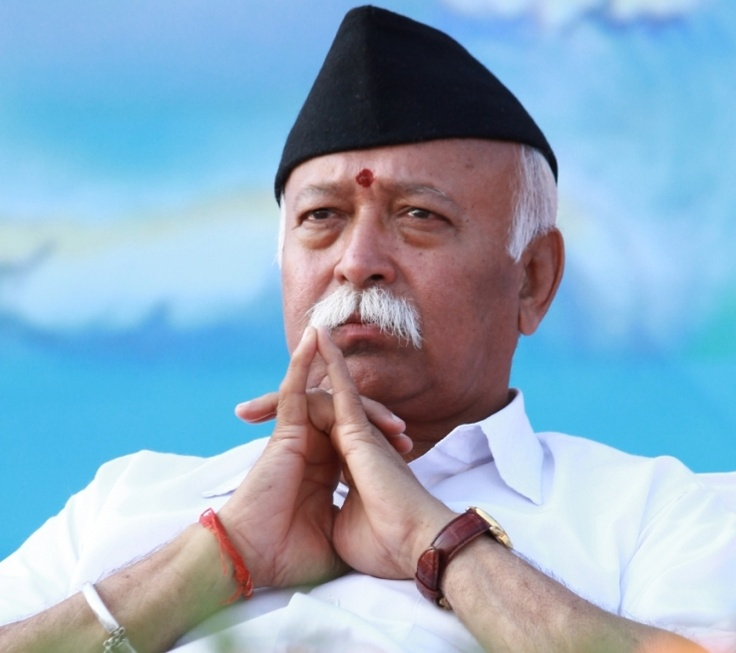 RSS Chief Mohan Bhagwat averted the BJP's crisis