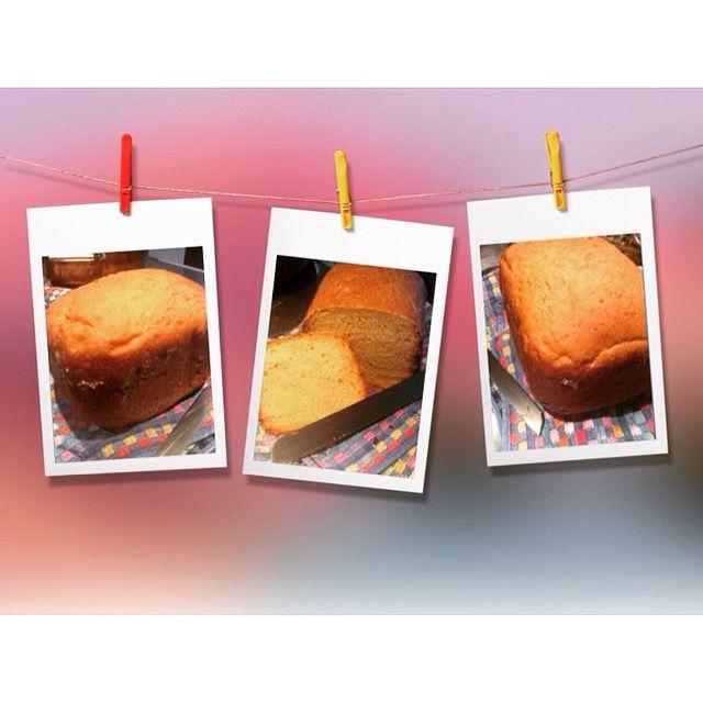 Pane del mattino fatto in casa con farina di manitoba amido di mais due banane yogurt alle mele latte di riso evo