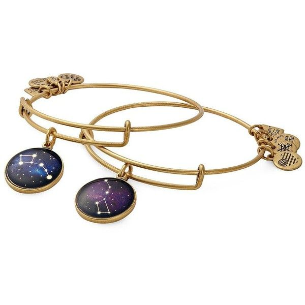 Alex And Ani Big & Little Dipper Big Brothers Big Sisters of America... ($38) ❤ liked on Polyvore featuring jewelry, bracelets, gold, alex and ani bangles, alex and ani jewelry, charm bangles, alex and ani charms and charm jewelry