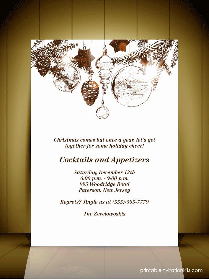 Christmas style wedding invitations