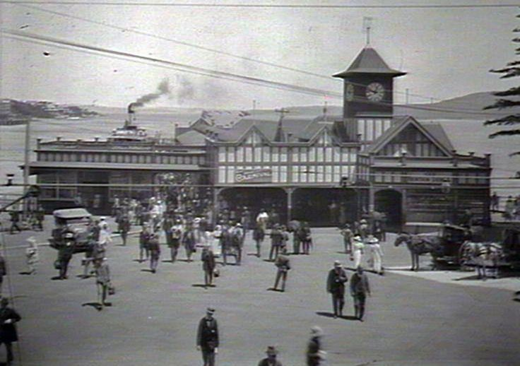 Manly ferry terminal, Manly 1922