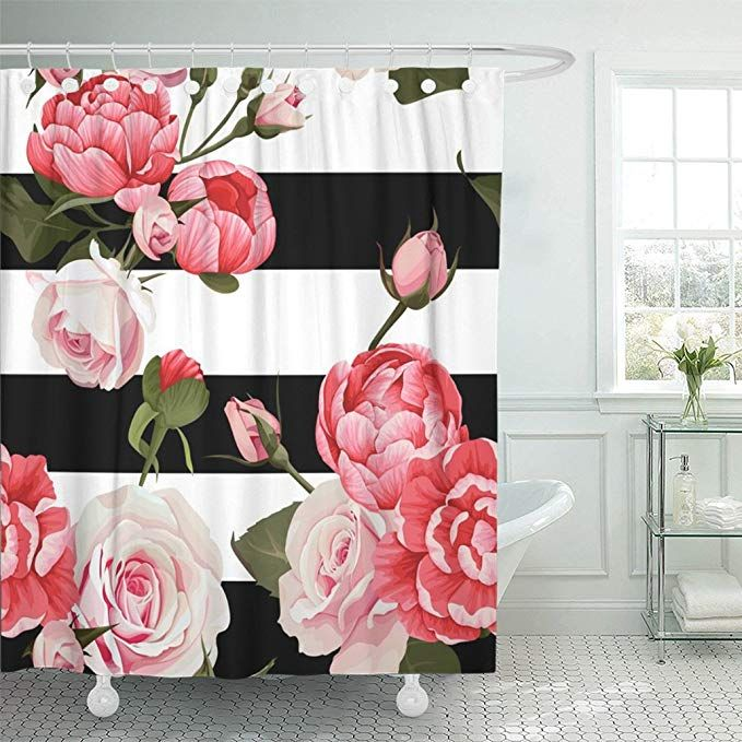28 Emvency Shower Curtain 72 X72 Polyester Fabric Colorful
