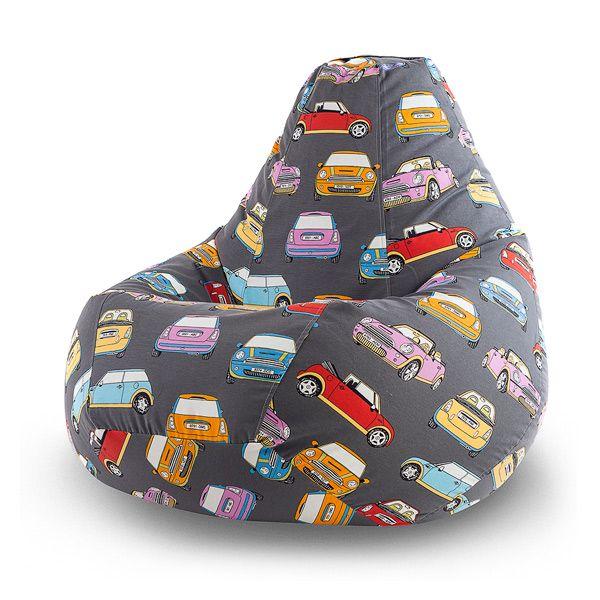 Кресло-мешок «Mini Cooper Sm.» понравится самым заядлым автомобилистам, которые не могут представить своей жизни без четырёхколёсного друга! Его обивка изготовлена из ткани, рисунок которой изображает разноцветные автомобили легендарной марки Mini Cooper. Изготовленное из мягкого жаккарда ткани, оно олицетворяет комфорт и уют. Позвольте себе расслабиться в его мягких объятьях и отправиться в путешествие по дорогам своих мечтаний!