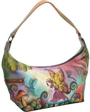 Anuschka 510 Shoulder Bag - I love Anuschka bags! The beautiful colors