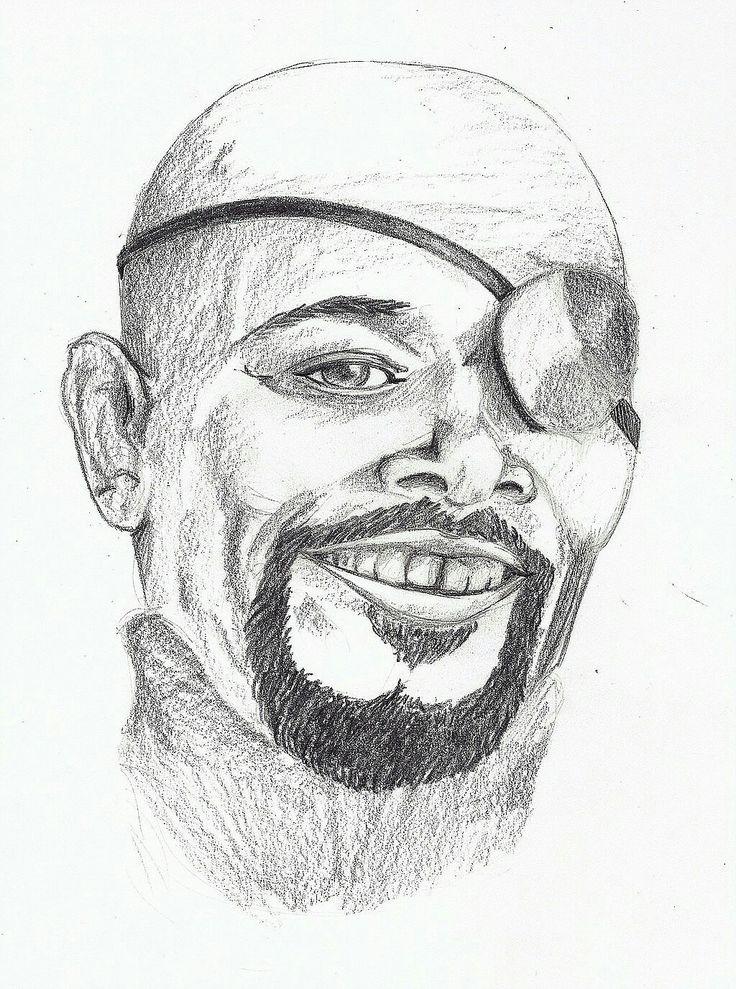 Portrait Samuel l. Jackson
