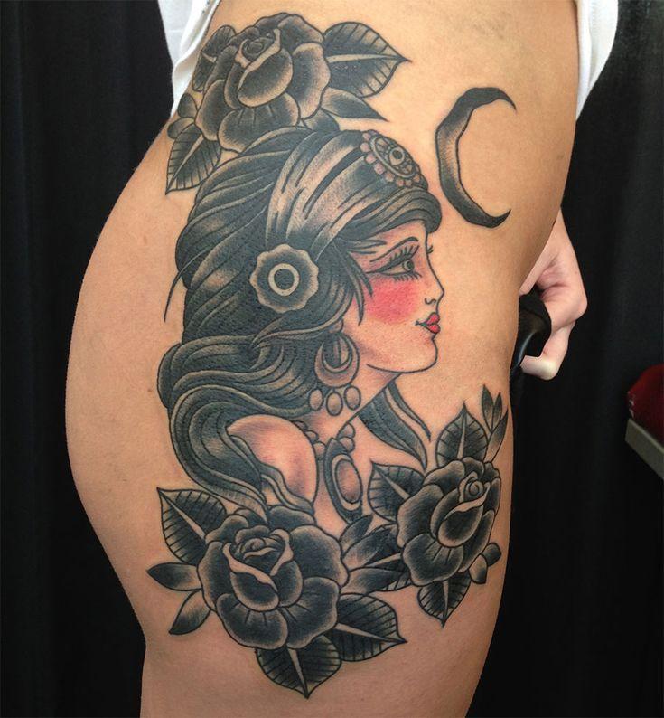 gypsy girl tattoo designs - Google Search