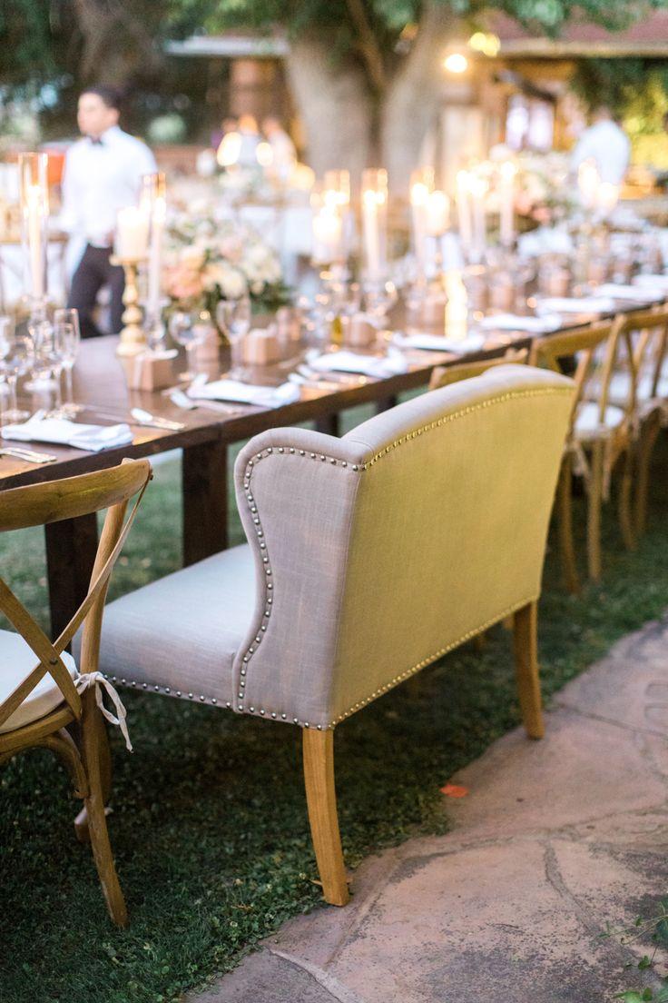 long table setup wedding reception%0A Garden Wedding Featuring   of the Cutest EVER Flower Girls