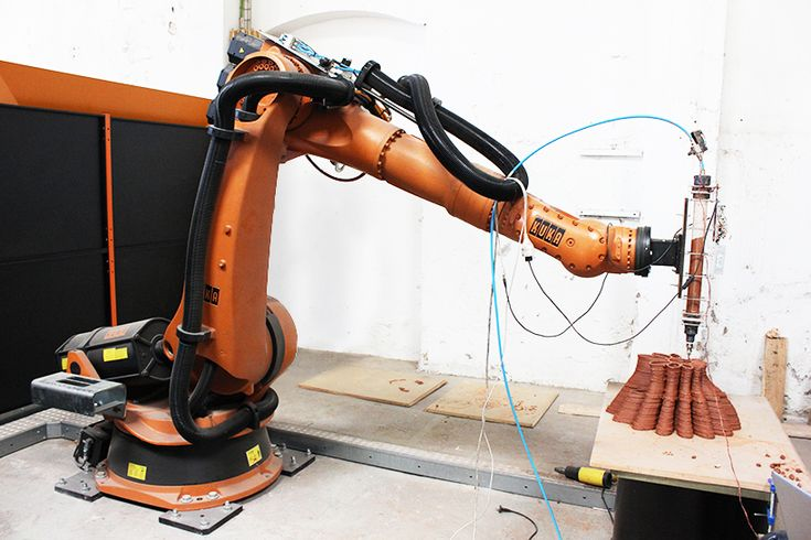 Fabclay Robotic Additive Manufacturing Processes