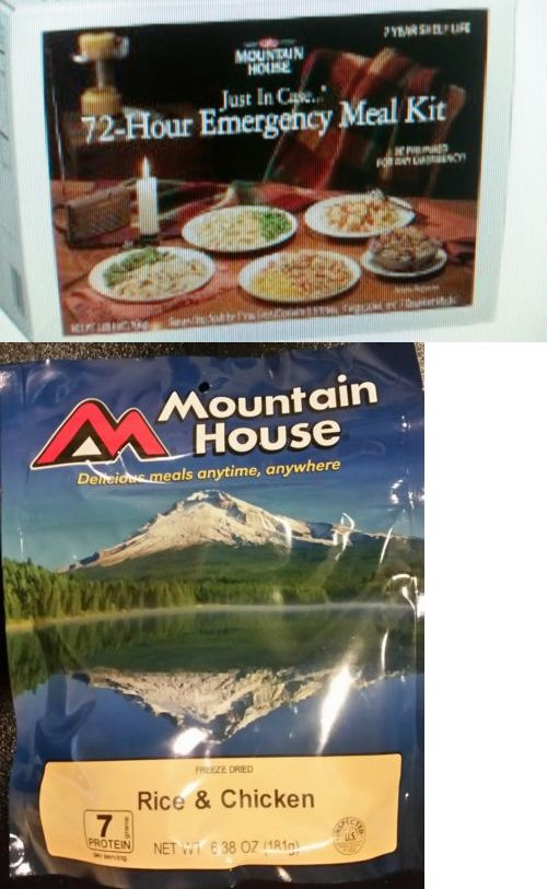 MREs and Freeze-Dried Food 62118: Mountain House 72 Hour Emergency Survival Food Kit - Freeze Dried Camping -> BUY IT NOW ONLY: $44.99 on eBay!