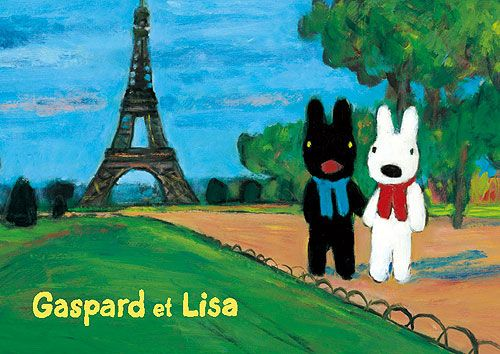 gaspard and lisa - how adorable are these littel bunnies (or dogs?). we love them.