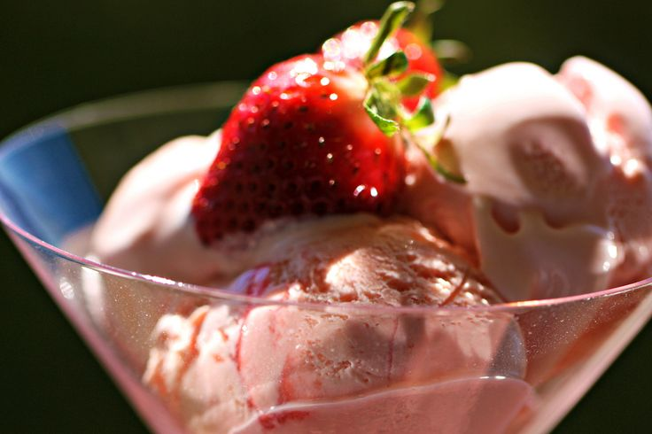 Five Minute Ice Cream: Strawberries Ice Cream, Prep Time, Minute ...