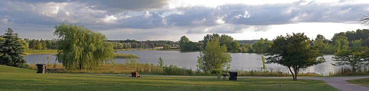 Columbia Lake Panorama, Waterloo, Ontario | Flickr - Photo Sharing!