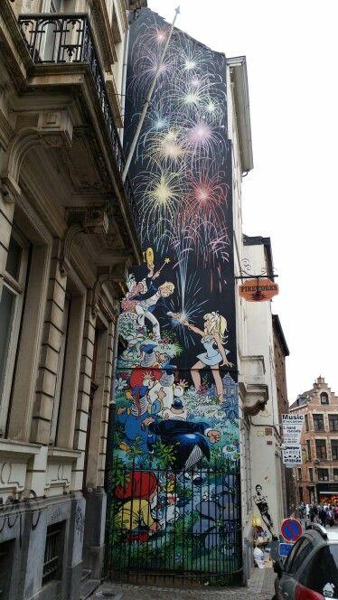 Olivier Rameau, rue du Chêne, Bruxelles