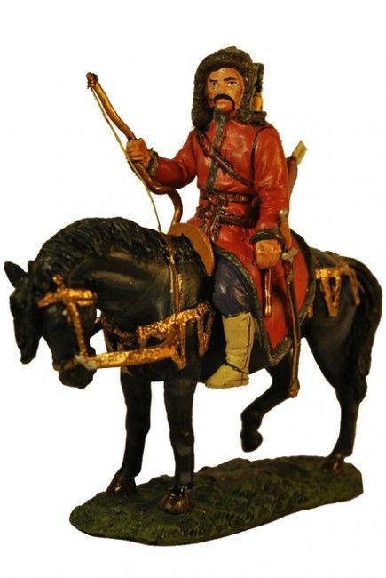 Атила вождь Гуннов Восточная Европа 450 г. Attila the Hun, Eastern Europe, C. 450 Del Prado Средневековье №07