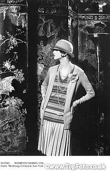 Coco Chanel, Paris 1926  I do wish I were taller, this look doesn't work so when when you're petite... :(