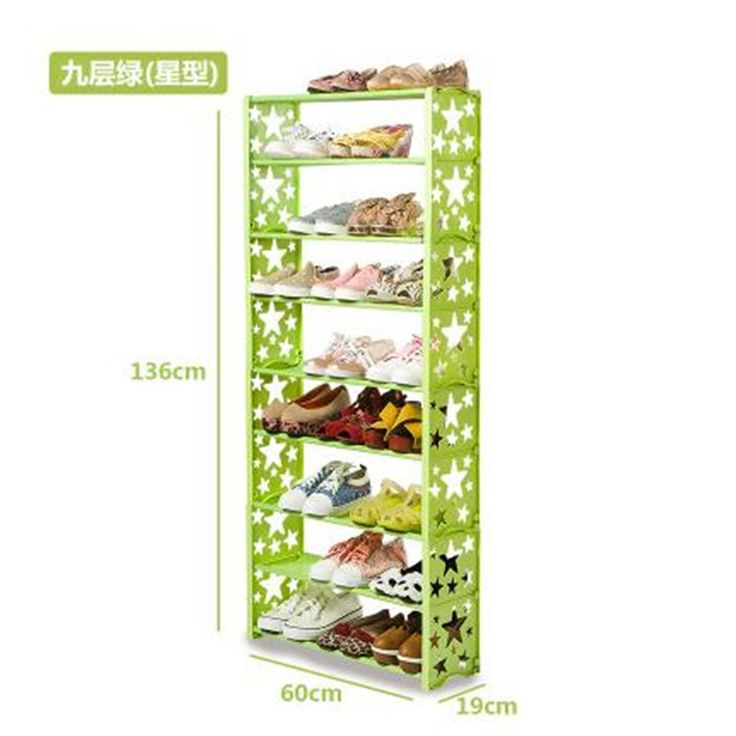 Simple multi-layers Shoes Shelf Brief Shoe Storage shelf Modern Shoe Rack