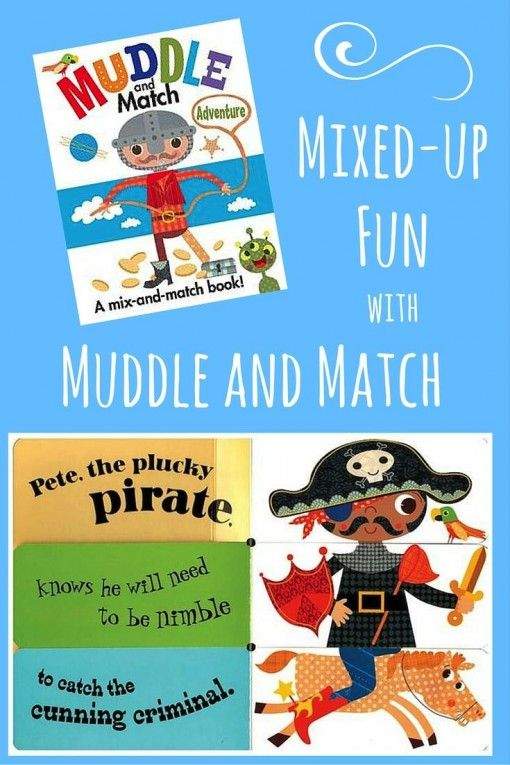 Muddle and Match interactive books! Flap-turning board book fun for babies, toddlers, and preschoolers. Great gifts for birthdays or baby showers.