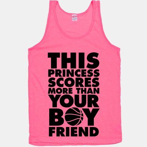 This Princess Scores More Than Your Boyfriend (Basketball)
