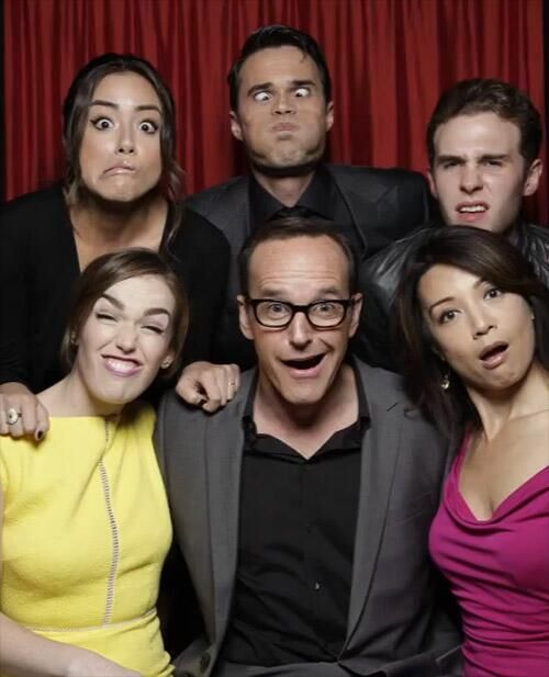 Class all the way! Agents of SHIELD. These guys are gonna save the world? (Loving this show)