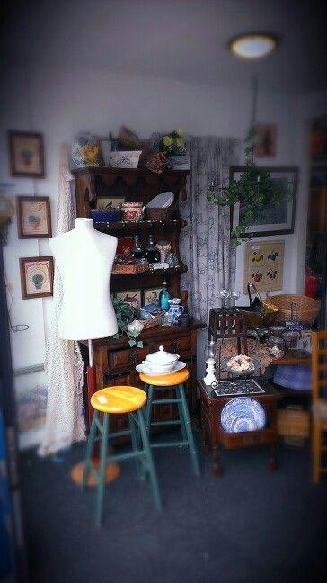 My job! ( thrift shop stylist)
