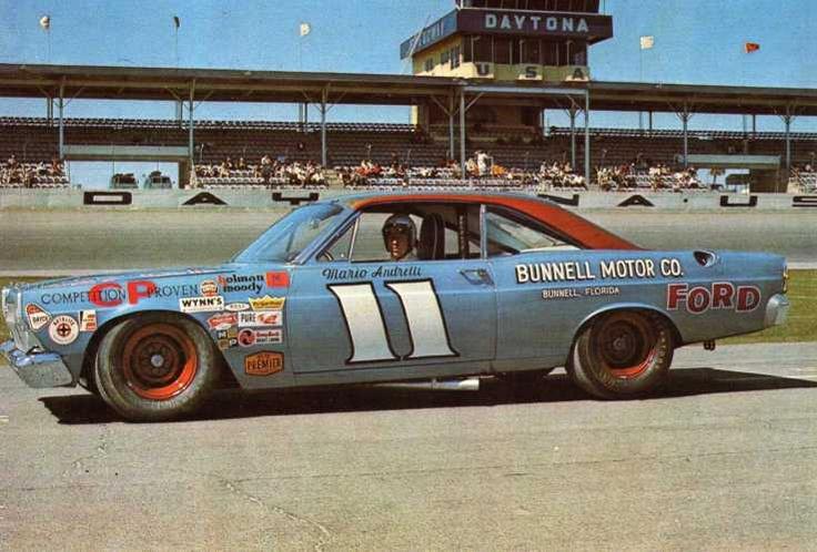 Ford stock car. 1967 Daytona 500 winner! Mario Andretti.