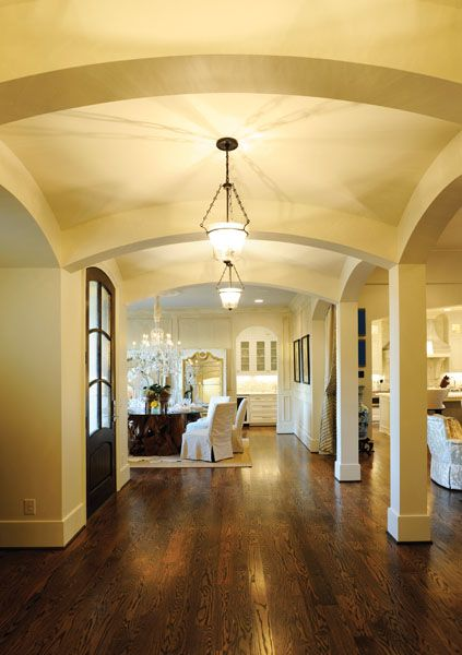 Foyers And Beyond Custom Flooring Franklin Tn : The foyer a castle homes signature an eight foot knotty