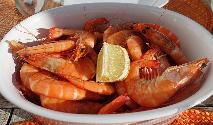 Krevety, Mořské Plody, Jídlo