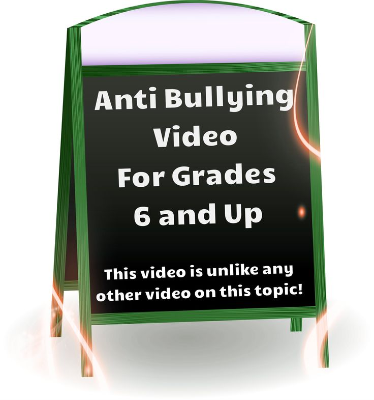 Anti Bullying Video for Grades 6 and Up!