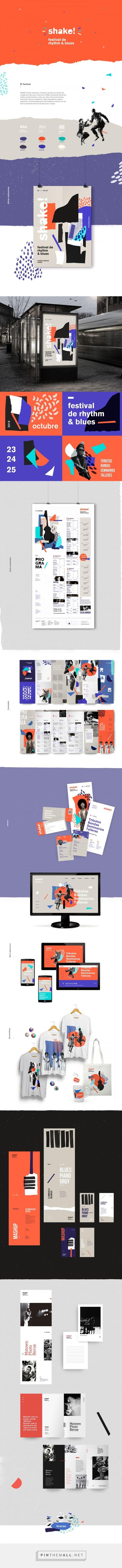Shake! R&B Festival Branding by Brenda Ruseler | Fivestar Branding Agency – Design and Branding Agency & Curated Inspiration Gallery