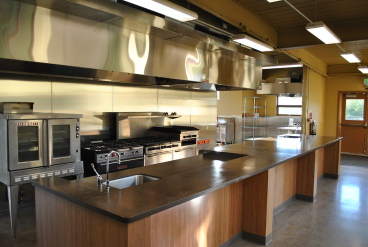 Pin by cheryl jones on cookery school pinterest for Best commercial kitchen designs