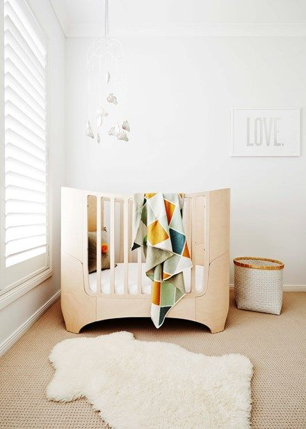 The Leander cot is a classic - it will never date   Home Beautiful Magazine Australia