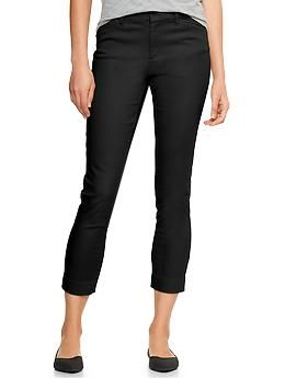 Factory skinny stretch capri pants | Gap