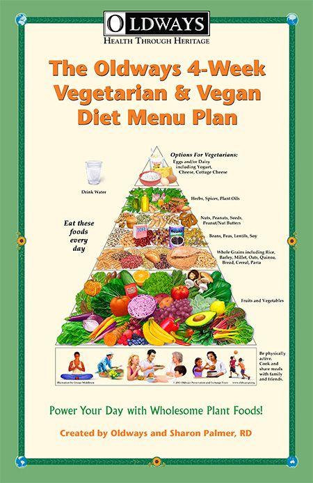 Oldways 4-Week Vegetarian & Vegan Diet Menu Plan | Oldways