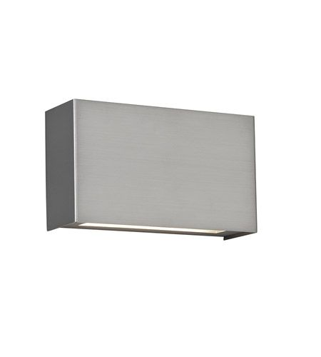WAC Lighting WS-25612-SN Blok LED 12 inch Satin Nickel ADA Wall Sconce Wall Light  photo