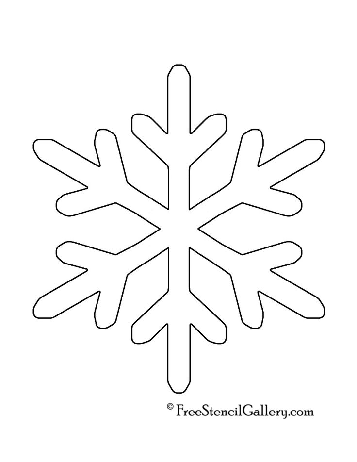 Obsessed image with printable snowflake stencils