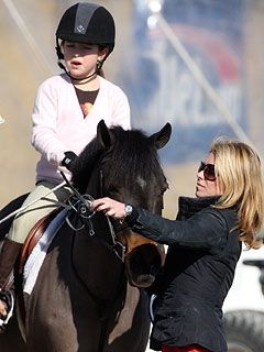 Hollywood Kids Win Big at Hampton Horse Show - Kelly Ripa is a horse show mom