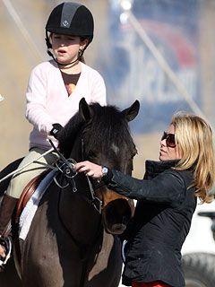 Hollywood Kids Win Big at Hampton Horse Show - Kelly Ripa is a horse show mom