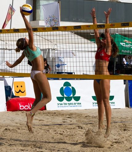 rules beach volleyball