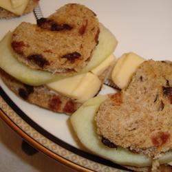 Cinnamon Apple and Havarti Tea Sandwiches Allrecipes.com