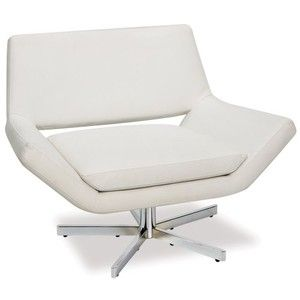 Avenue Six Yield Wide Swivel Accent Chair
