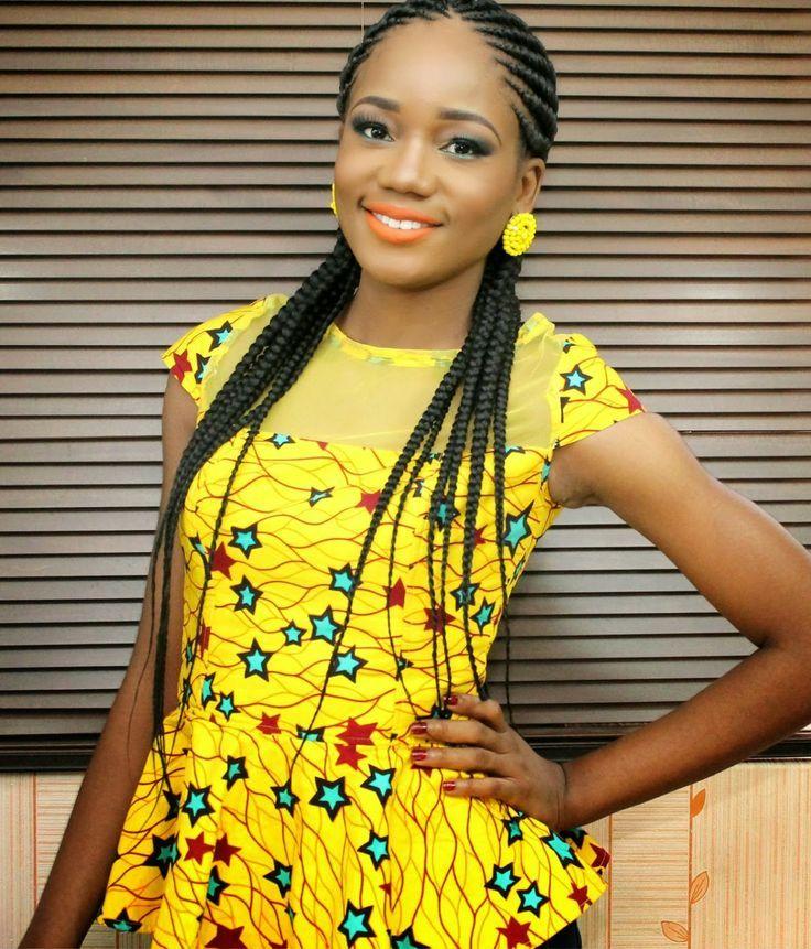 Latest Ghana Dress Styles From